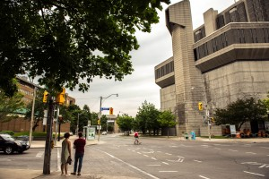 Robarts Library was the prison in Resident Evil: Afterlife (2010). MASHAL KHAN/THE VARSITY
